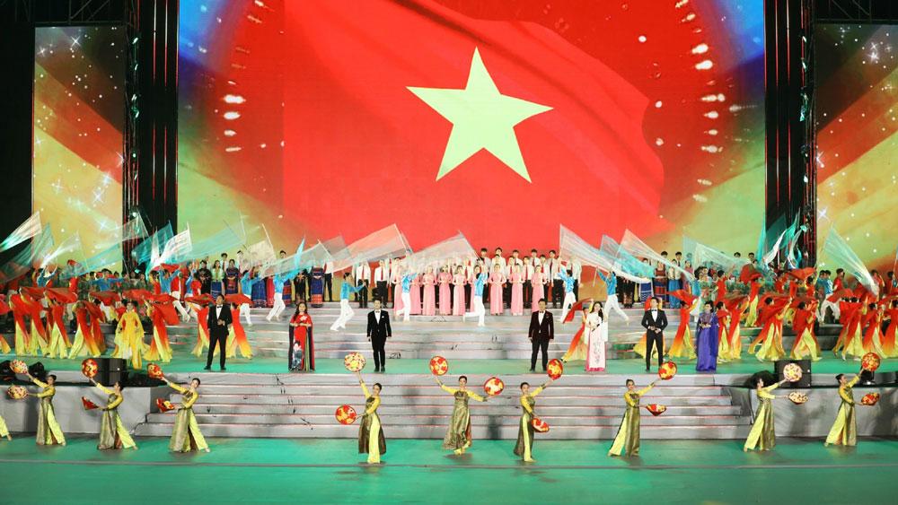 """Chương trình nghệ thuật """"Khát vọng - Tỏa sáng"""" chào mừng thành công Đại hội XIII của Đảng"""