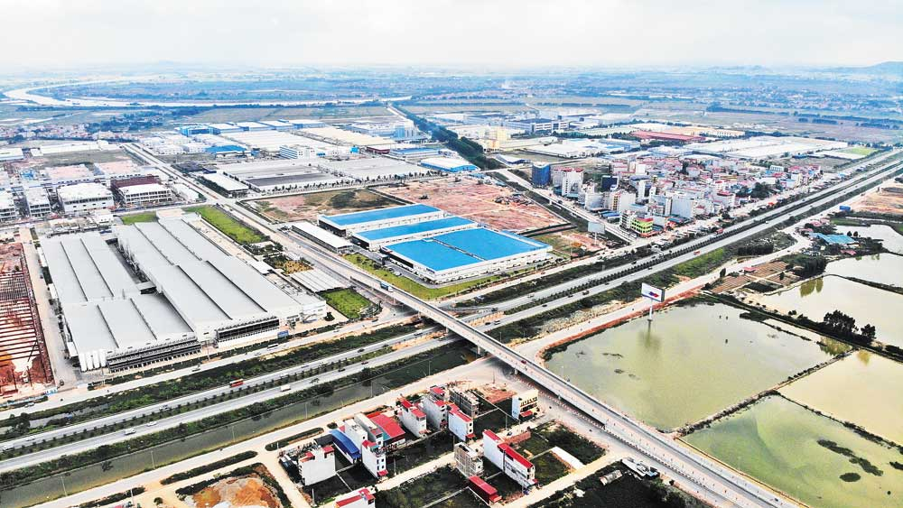 Bac Giang, 110,000 labourers, in 2021