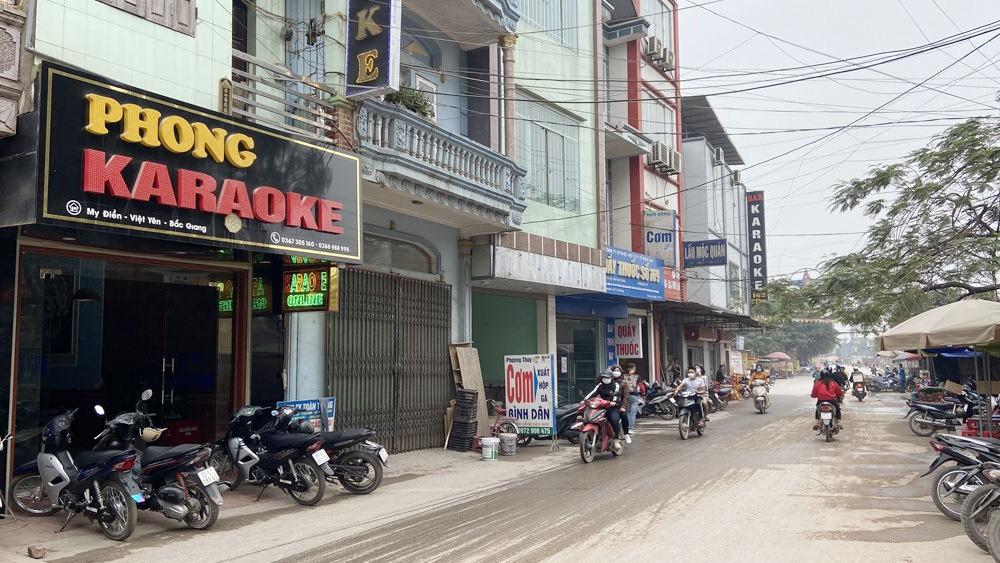 Việt Yên (Bắc Giang): Tạm dừng hoạt động một số cơ sở kinh doanh dịch vụ từ ngày 5/2