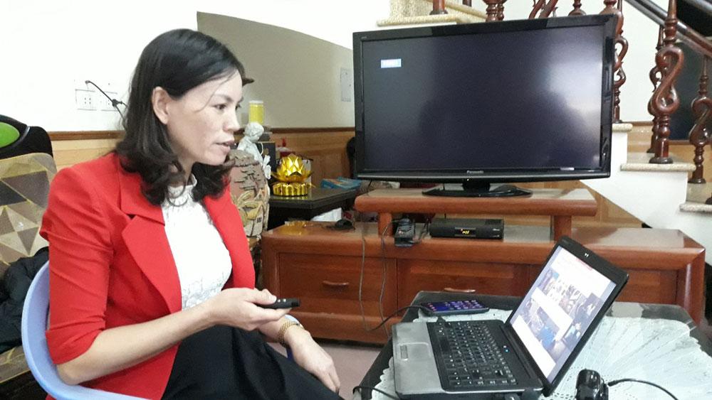 Bắc Giang, Dịch Covid-19, Dạy và học trực tuyến, giáo viên, học sinh