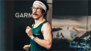 Runner Đức lập kỷ lục thế giới chạy 100km trên máy