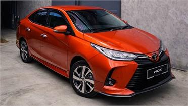 Toyota Vios 2021 sắp ra mắt Việt Nam