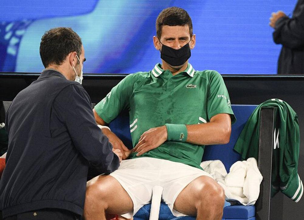 Djokovic, Taylor Fritz, thoát hiểm, Australia Mở rộng
