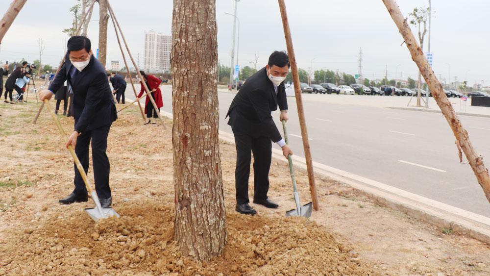 """TP Bắc Giang phát động """"Tết trồng cây đời đời nhớ ơn Bác Hồ năm 2021"""""""