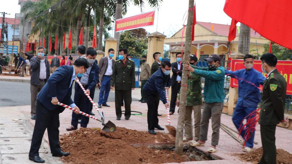 Lạng Giang: Phấn đấu trồng 400 nghìn cây phân tán