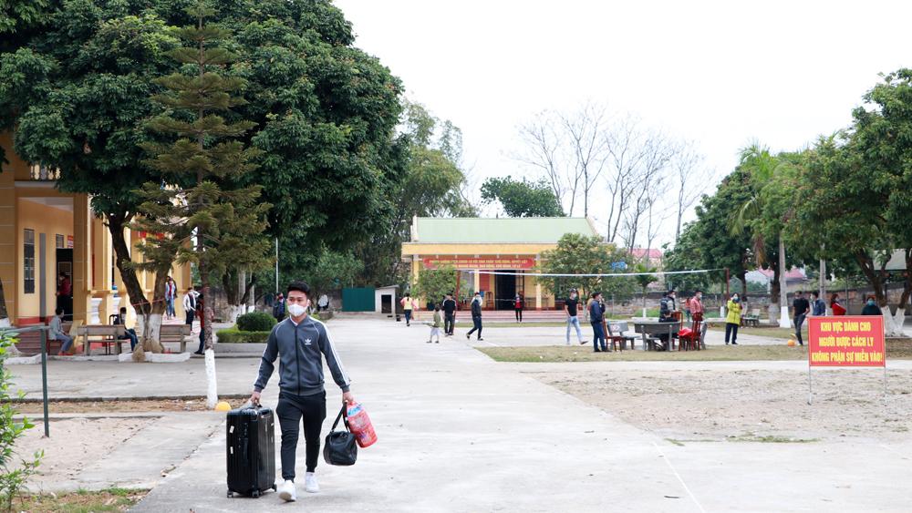 Bắc Giang: Đưa công dân từ khu cách ly tập trung về nơi cư trú tiếp tục theo dõi y tế