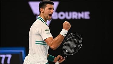 Djokovic lần thứ chín vào chung kết Australia Mở rộng