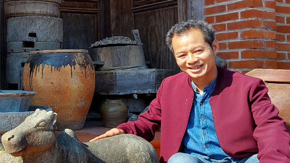 Cổ vật, Việt phủ Linh Giang, Nguyễn Long Giang, Bắc Giang
