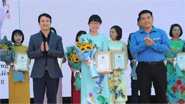 Cô giáo Lê Thị Thu Thủy sáng tạo và cống hiến