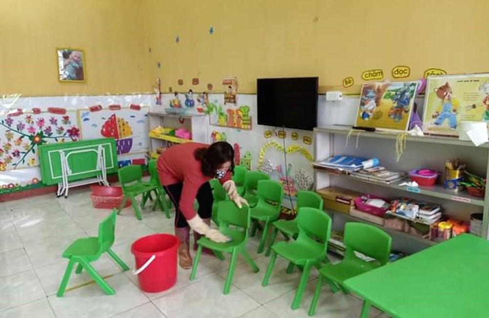 Học sinh đi học trở lại, Dịch covid-19, Phòng dịch Covid-19