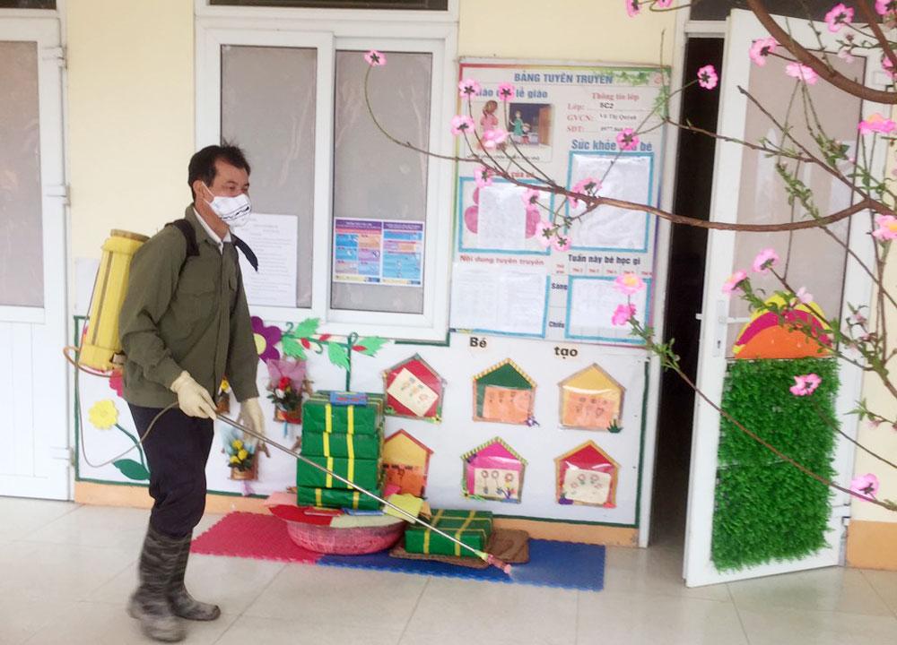 giáo dục Bắc Giang, chống Covid, học sinh đi học, đến trường.