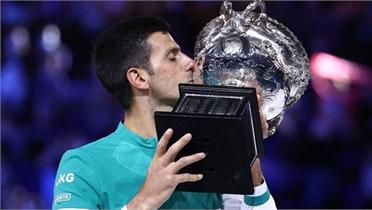 Novak Djokovic lần thứ 9 vô địch Australian Open