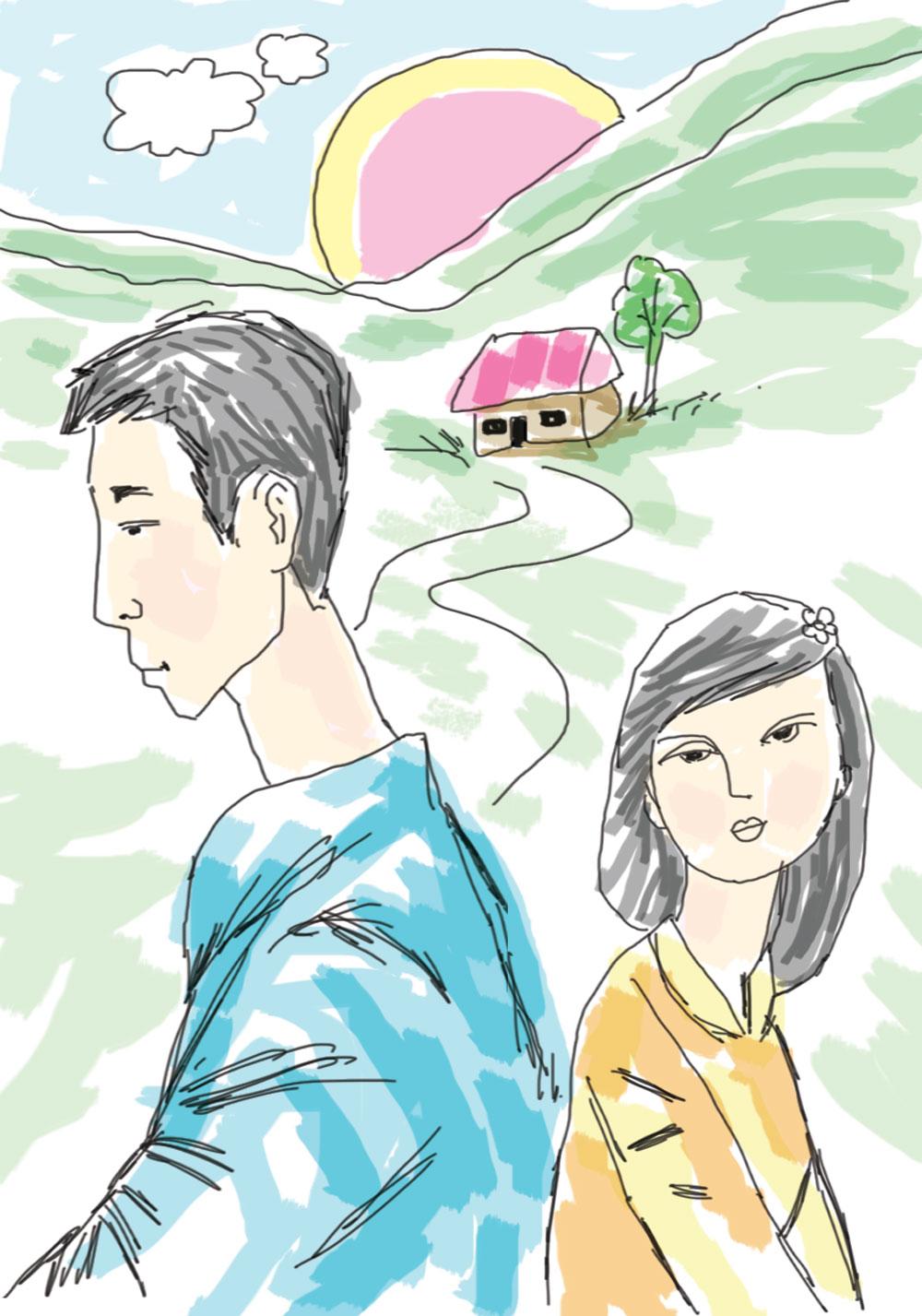 Màu nắng của cha, con gái, tuổi thiếu niên