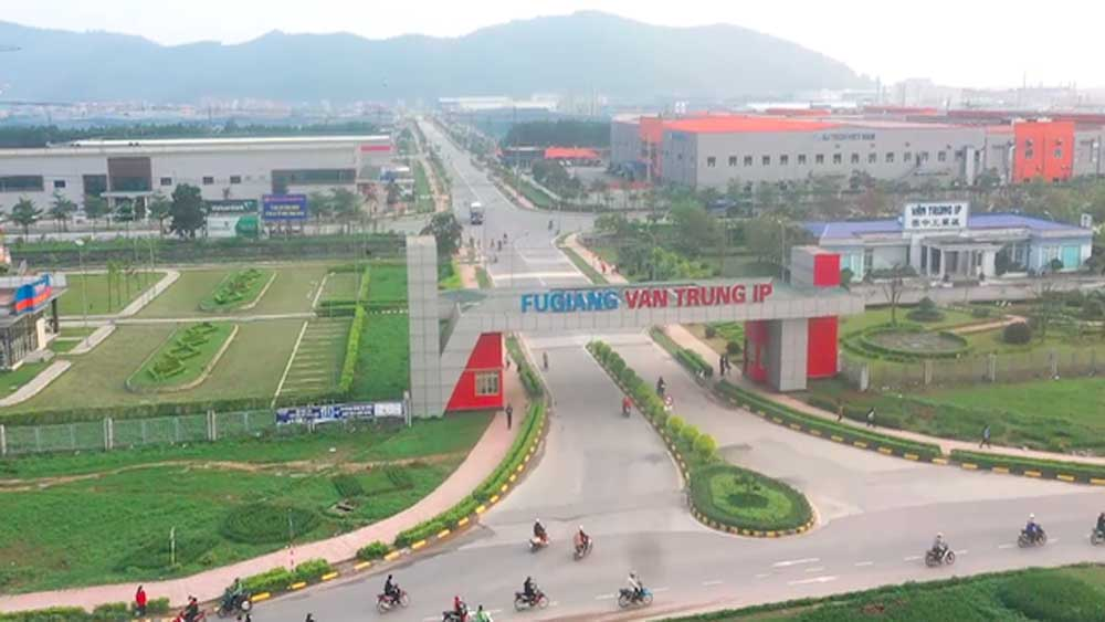 Bac Giang, Total investment, IZs, 60 percent of yearly plan