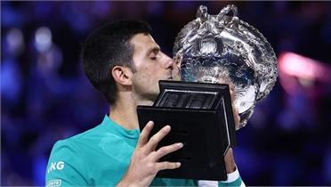 Djokovic giành nhiều danh hiệu lớn hơn Nadal, Federer