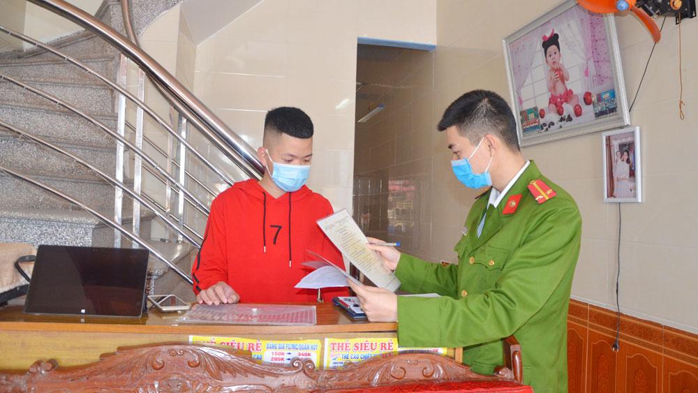 Công an huyện Yên Dũng, Bắc Giang, an toàn xã hội, cơ sở kinh doanh có điều kiện, phòng, chống ma túy