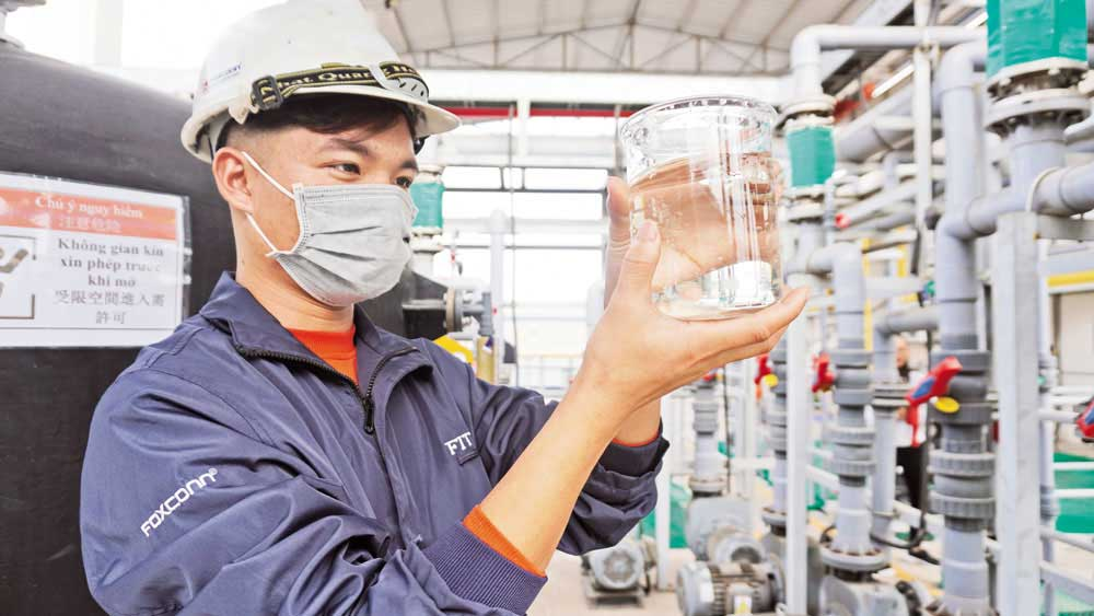 Foreign-invested firm, production development, environmental protection