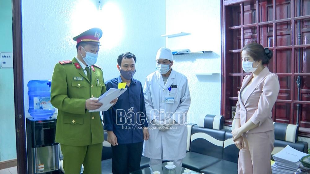"""Bắc Giang: Khởi tố 3 bị can về tội """"Gian lận bảo hiểm y tế"""""""