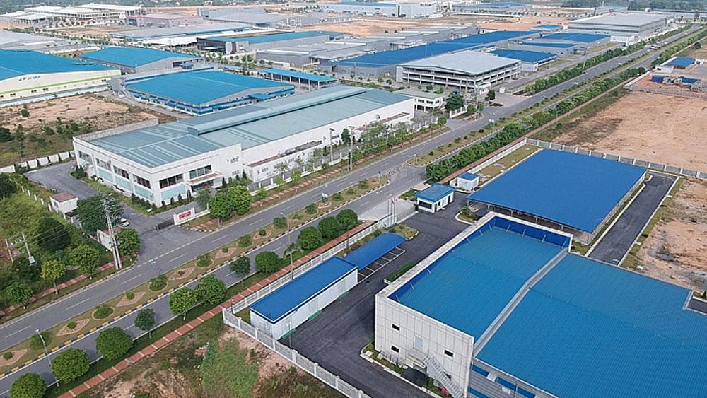 Bắc Giang, KCN Việt Hàn, dự án xây dựng và kinh doanh, chủ trương đầu tư