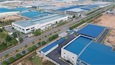 Quyết định chủ trương đầu tư dự án xây dựng và kinh doanh kết cấu hạ tầng KCN Việt Hàn, Bắc Giang