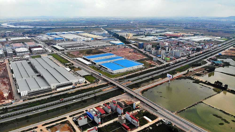 Bac Giang , 3 new industrial parks, the Quang Chau IP