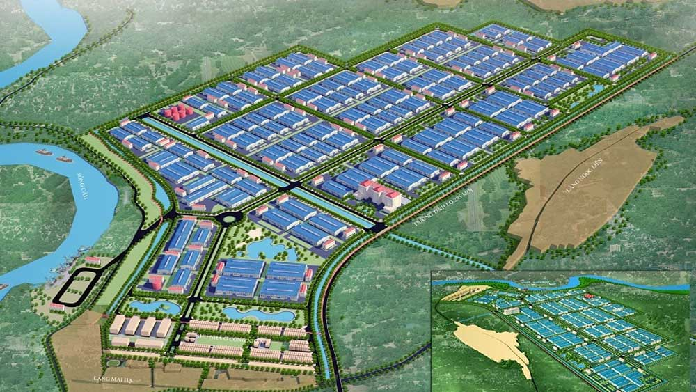 Bac Giang, Vietnam-Korea IP infrastructure project, in-principle approval