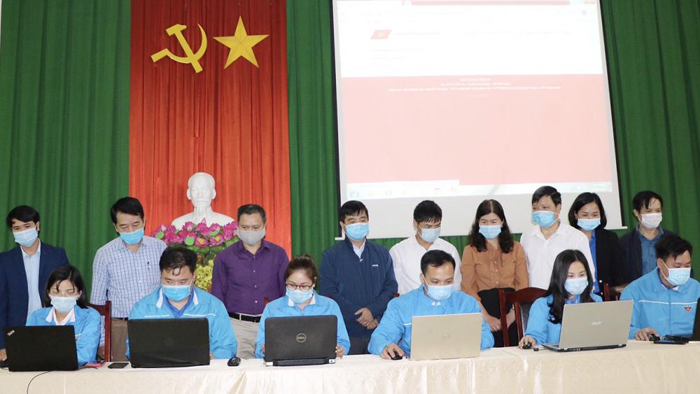 Lạng Giang phát động Cuộc thi trực tuyến tìm hiểu Nghị quyết đại hội đảng các cấp