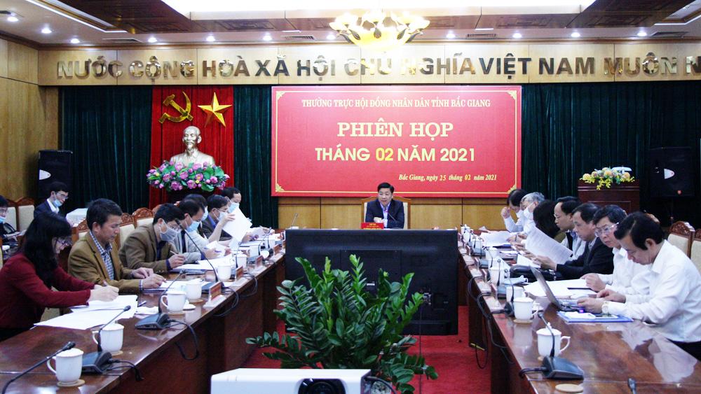 Bắc Giang: Kỳ họp đánh giá kết quả hoạt động HĐND tỉnh nhiệm kỳ 2016-2021 dự kiến diễn ra ngày 31/3