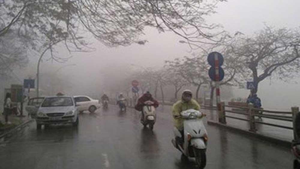 Không khí lạnh ảnh hưởng đến Đông Bắc Bộ, Bắc Trung Bộ