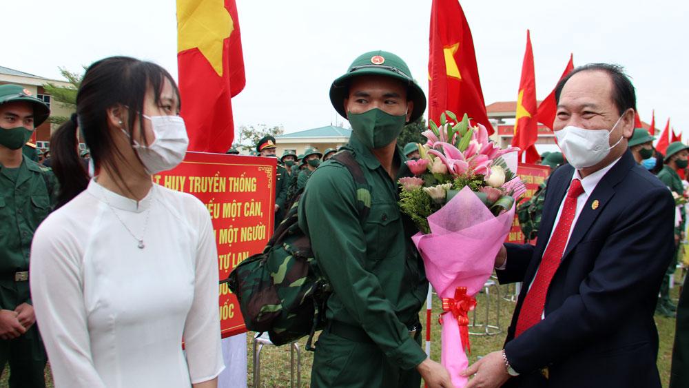 Ngày hội giao quân huyện Việt Yên năm 2021