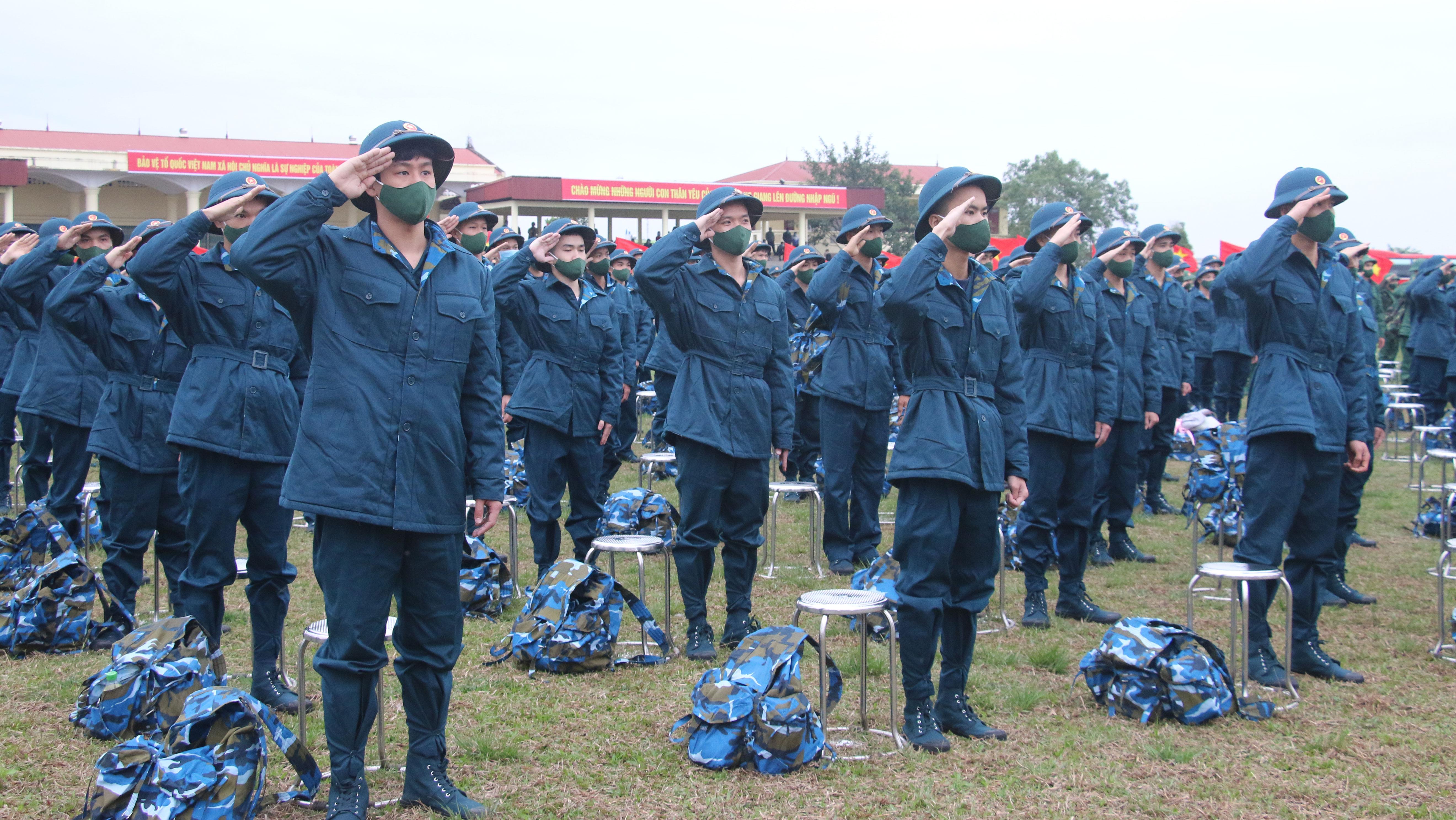 Bắc Giang; Lạng Giang; tuyển quân; nhập ngũ