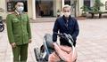 Bắc Giang: Nhận lại xe máy sau 2 tháng bị mất trộm