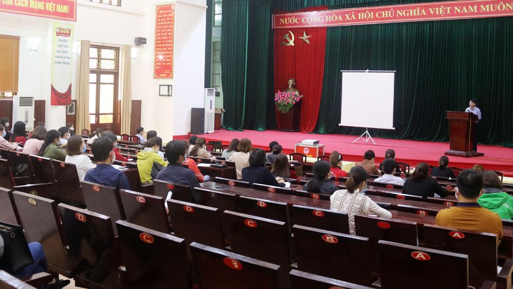 Việt Yên hướng dẫn phòng, chống dịch Covid -19 cho DN