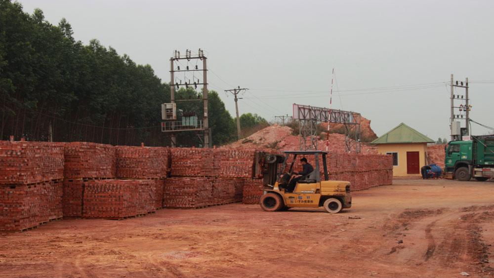 vật liệu xây dựng, Bắc Giang, gạch,