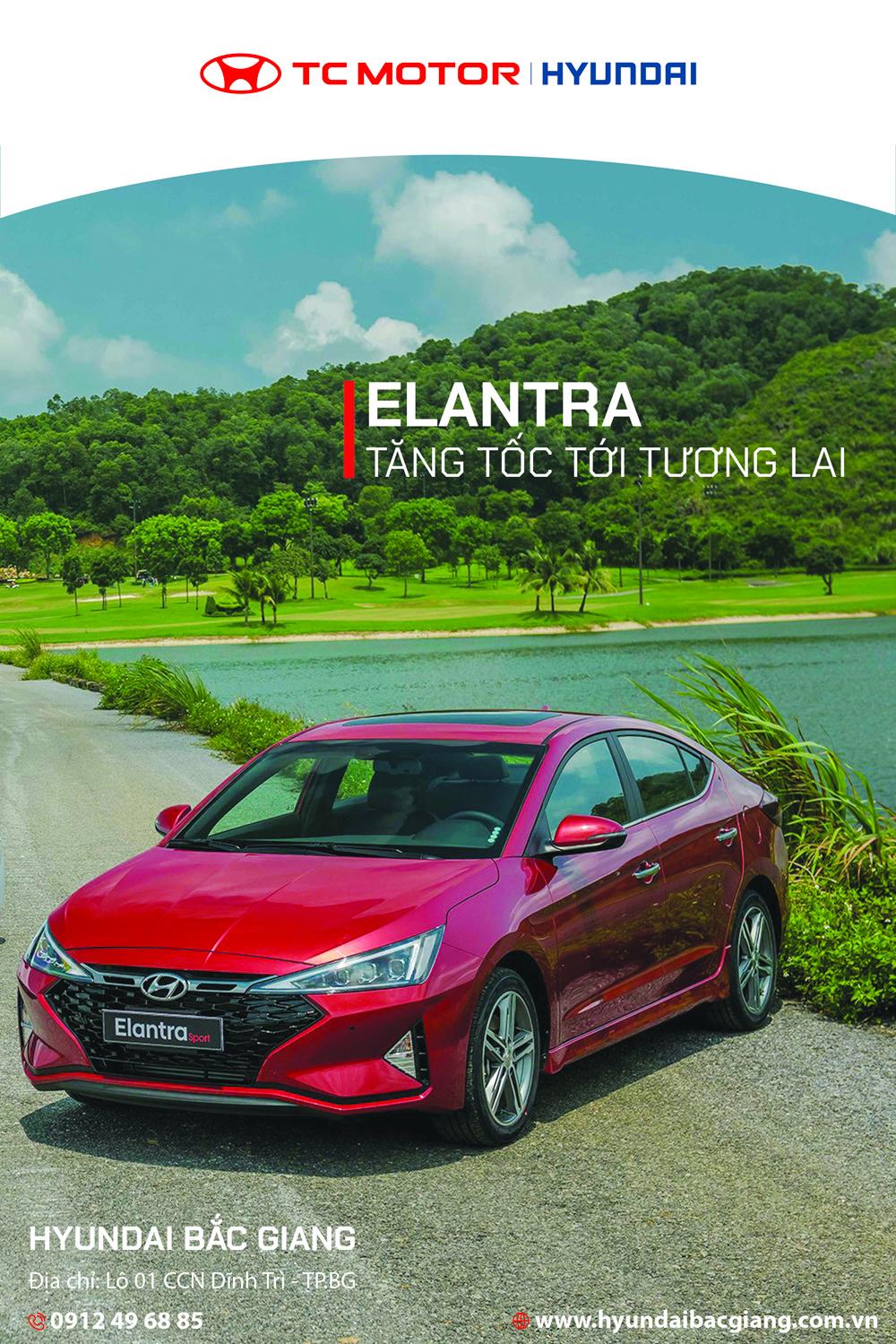 Hyundai Elantra, Tăng tốc tới tương lai, Hàn Quốc, Hyundai