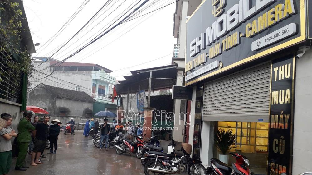 Bắc Giang: Bắt nhanh đối tượng cướp, đâm trọng thương chủ cửa hàng điện thoại