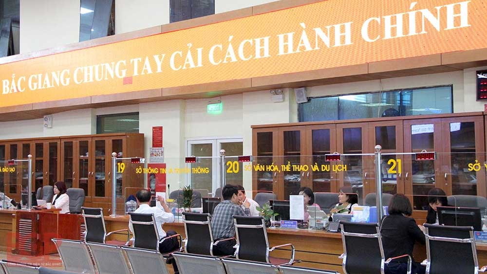 Department of Planning and Investment leads agencies in Bac Giang in issuing administrative procedure templates
