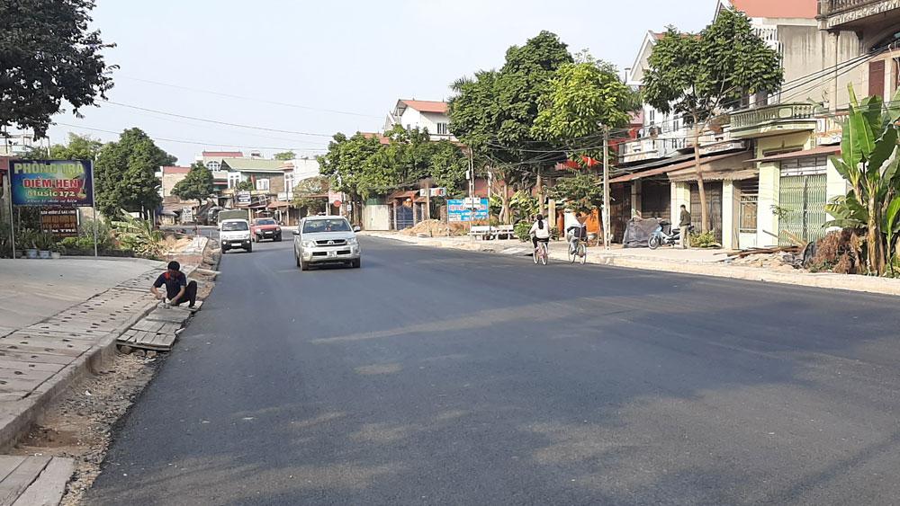 Bắc Giang: Người dân đồng thuận hiến đất làm đường