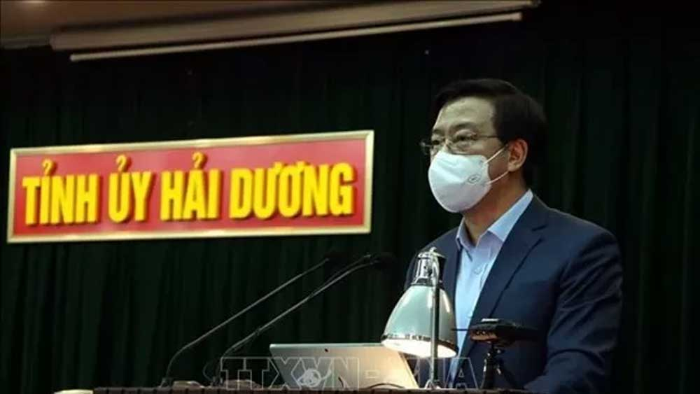 Hai Duong, Province-wide social distancing, end on March 3