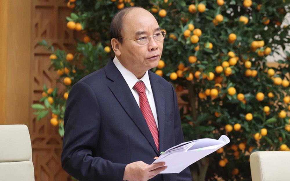 Covid-19, Thủ tướng Nguyễn Xuân Phúc, Chính phủ, họp phiên thường kỳ