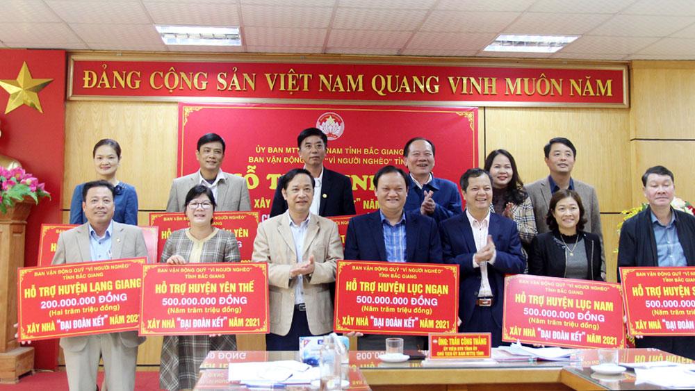 Bắc Giang, đại đoàn kết, MTTQ, hộ nghèo, bầu cử