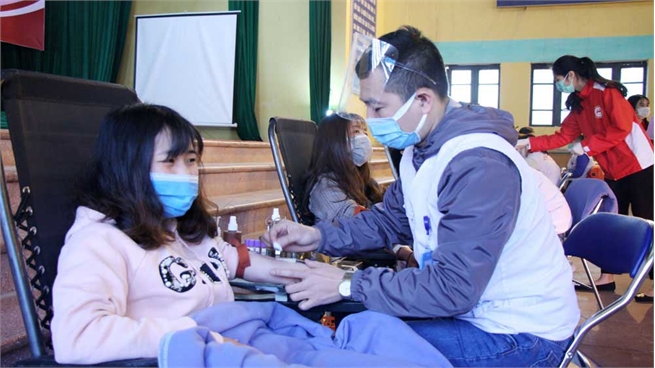 Bac Giang changes mobilization methods to ensure blood supply