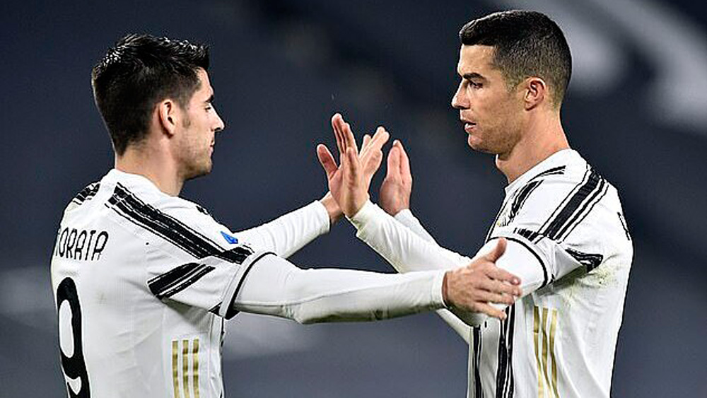 Juventus,Ronaldo,Serie A,Morata,Chiesa