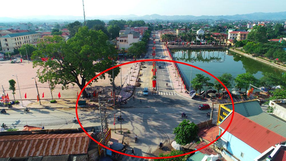 Lục Ngạn: Sớm giải phóng xong mặt bằng thi công nút giao đường Trần Phú với QL 31