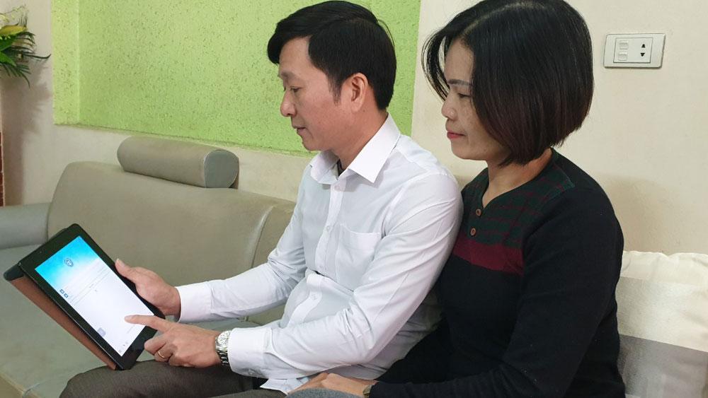 ứng dụng, VssID, phần mềm, BHXH, Bắc Giang