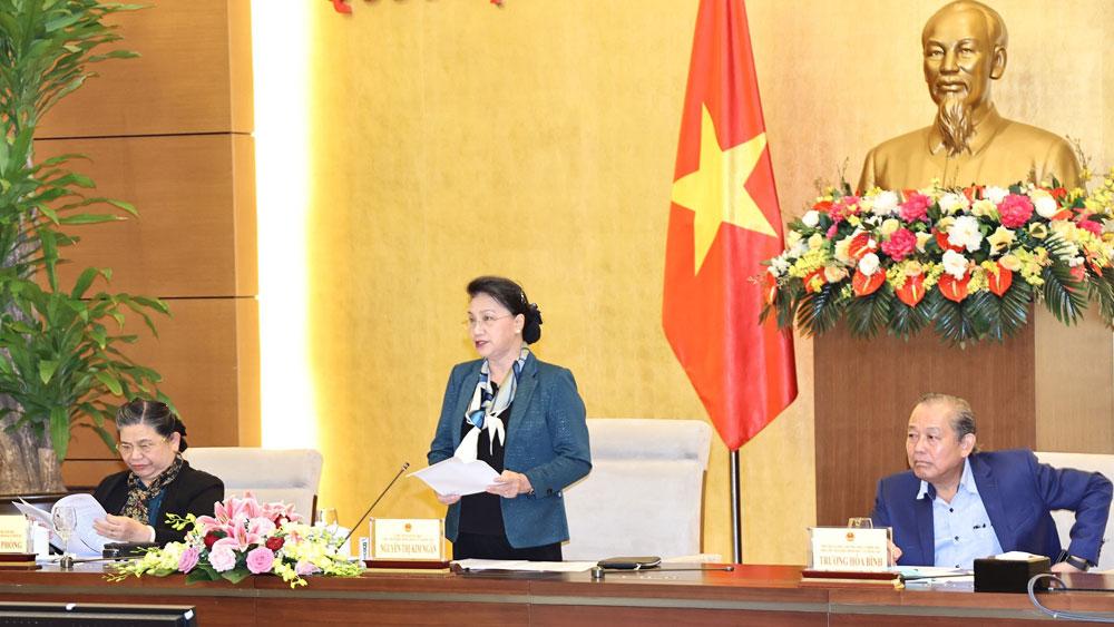 184 đơn vị bầu cử, Chủ tịch Quốc hội Nguyễn Thị Kim Ngân, Hội đồng Bầu cử quốc gia