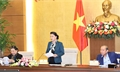 Chủ tịch QH Nguyễn Thị Kim Ngân chủ trì Phiên họp thứ ba Hội đồng Bầu cử quốc gia