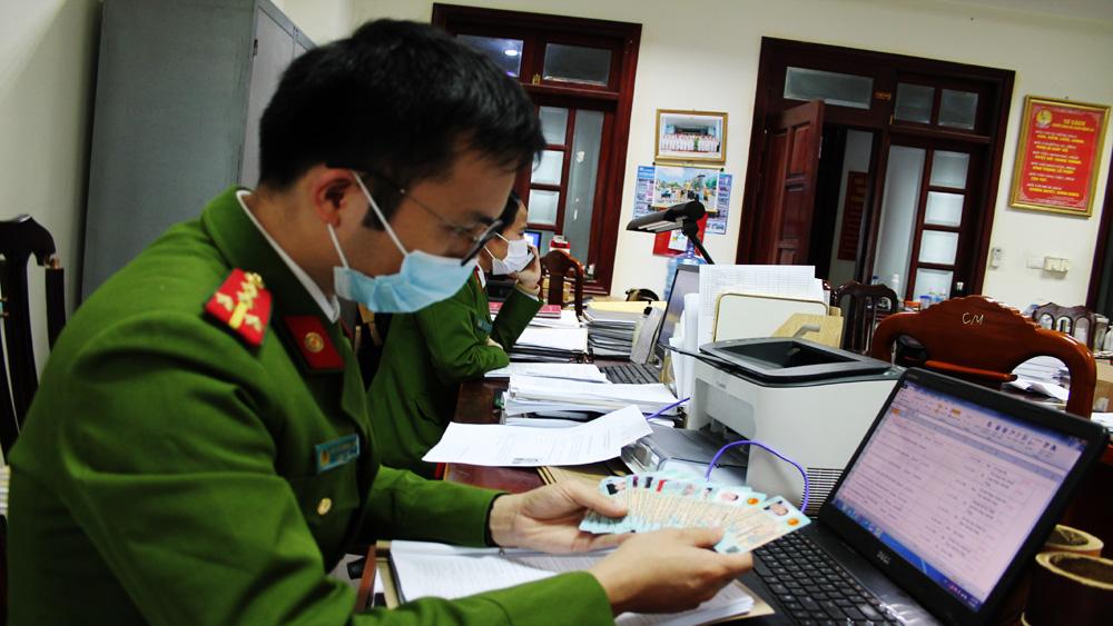 Công an Bắc Giang,  22 giờ, cấp thẻ căn cước công dân