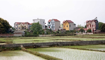 Mountainside villa village in Bac Giang