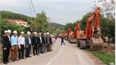 Cải tạo, nâng cấp đường vào trung tâm xã Hộ Đáp xong trước vụ vải thiều năm 2021